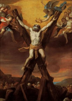 The Crucifixion of Saint Andrew | Mattia Preti | Oil Painting