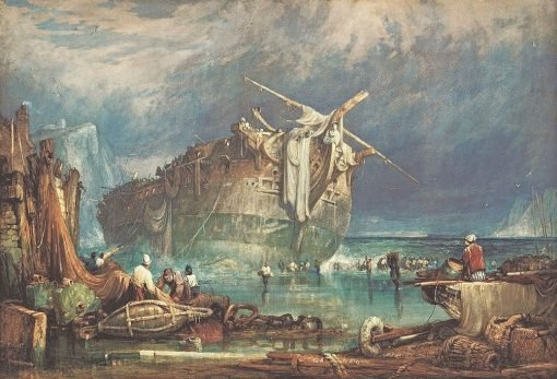 Salving from the Wreck | Samuel Prout | Oil Painting