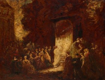 Fête d'Apres-Midi | Adolphe Joseph Thomas Monticelli | Oil Painting