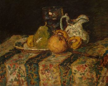 Still Life with Fruit and Wine Jug | Adolphe Joseph Thomas Monticelli | Oil Painting