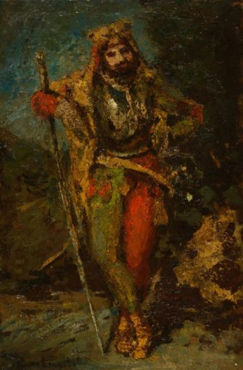 Mephisto from the Opera Faust | Adolphe Joseph Thomas Monticelli | Oil Painting