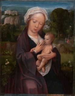 Virgin and Child | Adriaen Isenbrandt | Oil Painting