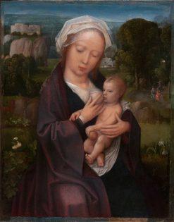 Virgin and Child   Adriaen Isenbrandt   Oil Painting