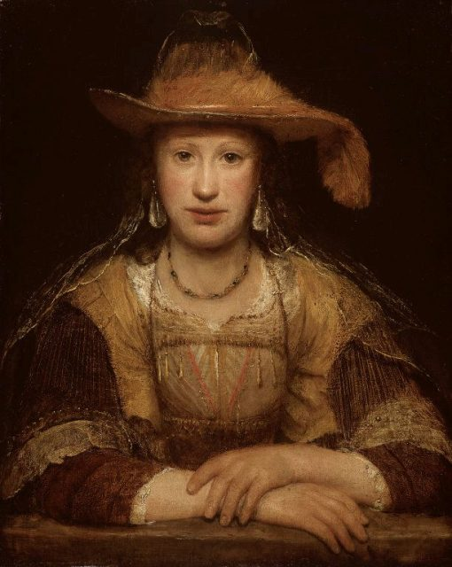 Portrait of a Young Woman | Aert de Gelder | Oil Painting
