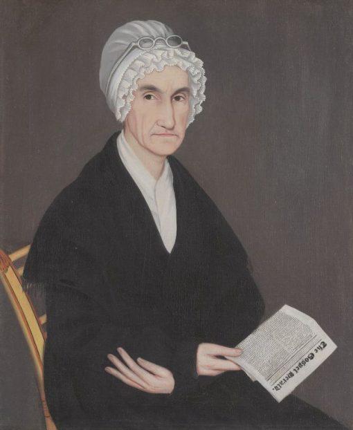 Mrs. Reuben Allerton (Lois Atherton) | Ammi Phillips | Oil Painting