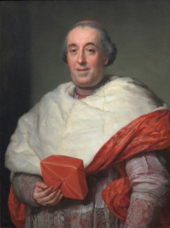 Portrait of Cardinal Zelada | Anton Raphael Mengs | Oil Painting