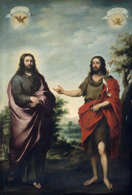 Saint John the Baptist Pointing to Christ | BartolomE Esteban Murillo | Oil Painting
