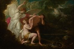 The Expulsion of Adam and Eve from Paradise | Benjamin West | Oil Painting