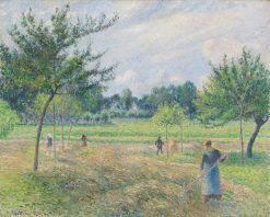 Haying Time | Camille Pissarro | Oil Painting