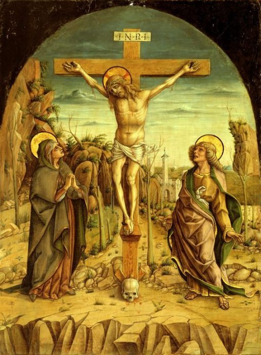 The Crucifixion | Carlo Crivelli | Oil Painting