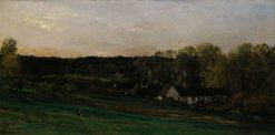 House of Mere Bazot | Charles Francois Daubigny | Oil Painting