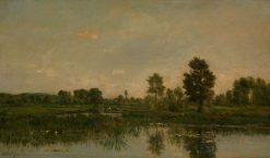 The Marsh | Charles Francois Daubigny | Oil Painting