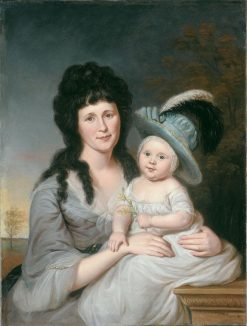 Mrs. John Nicholson (Hannah Duncan) and John Nicholson