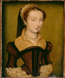 Portrait of Louise de Halluin