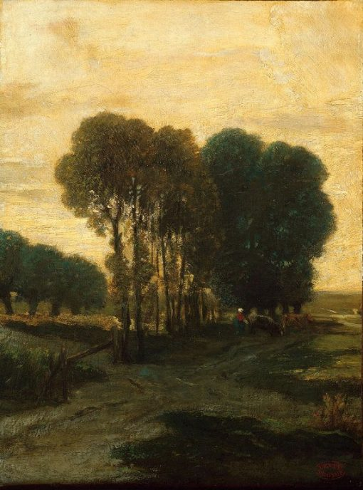 A Clump of Trees | Constant Troyon | Oil Painting
