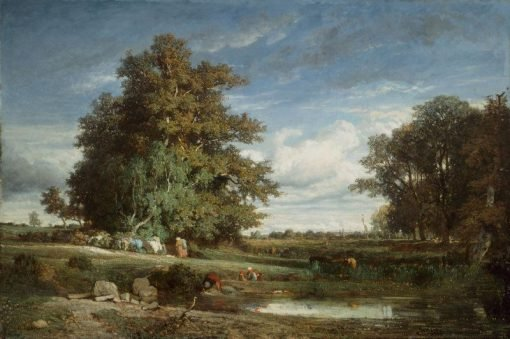 The Marsh | Constant Troyon | Oil Painting
