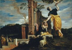 Abraham's Sacrifice of Isaac (after Veronese)   David Teniers II   Oil Painting