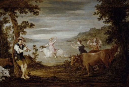 The Rape of Europa (after Giorgione)   David Teniers II   Oil Painting