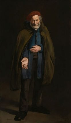 The Philosopher: Beggar with a Dufflecoat | Edouard Manet | Oil Painting
