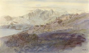 La Piana | Edward Lear | Oil Painting