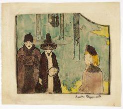 The Stroll | Emile Bernard | Oil Painting