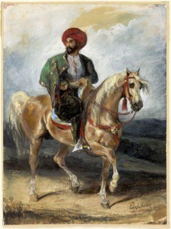 The Turkish Rider | Eugene Delacroix | Oil Painting