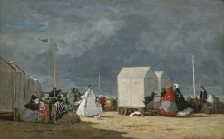 Approaching Storm | Eugene Louis Boudin | Oil Painting