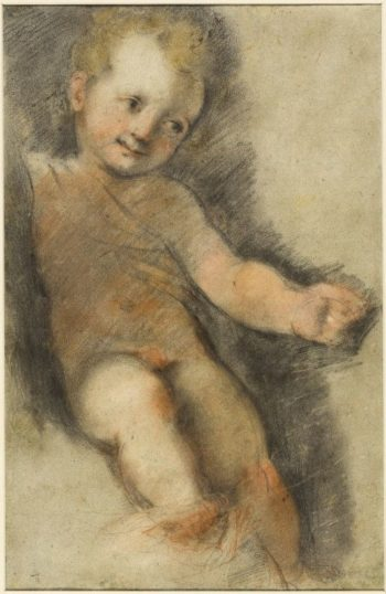 Christ Child: Study for the Madonna di San Giovanni | Federico Barocci | Oil Painting