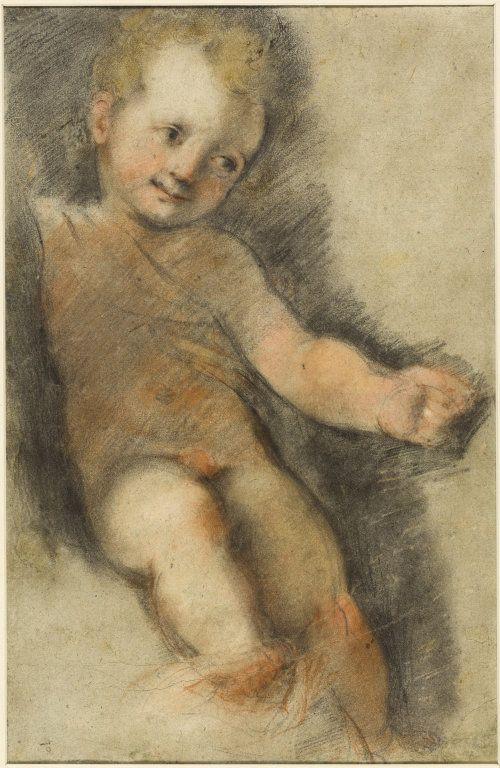 Christ Child: Study for the Madonna di San Giovanni | Federico Barocci | Oil Painting