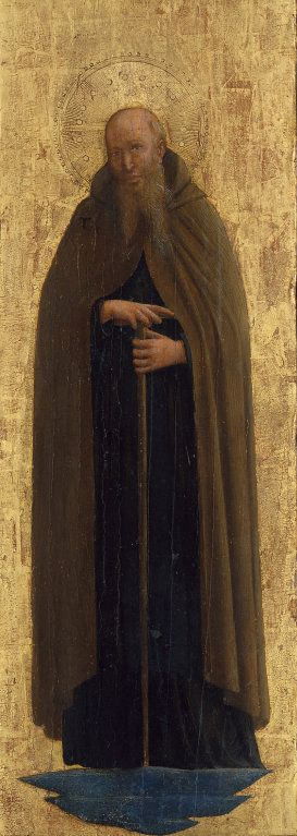 Saint Anthony Abbot | Fra Angelico | Oil Painting