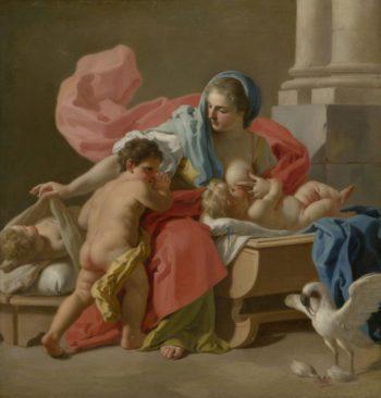 Charity | Francesco de Mura | Oil Painting