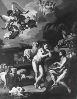 Adam and Eve in Paradise | Francesco Solimena | Oil Painting