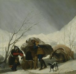 Winter Scene | Francisco de Goya y Lucientes | Oil Painting