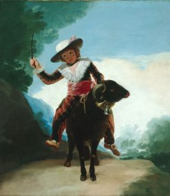 Boy with a Ram | Francisco de Goya y Lucientes | Oil Painting