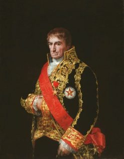 General Jose Manuel Romero | Francisco de Goya y Lucientes | Oil Painting