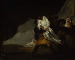 The Hanged Monk | Francisco de Goya y Lucientes | Oil Painting