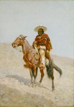 A Mexican Vaquero | Frederic Remington | Oil Painting