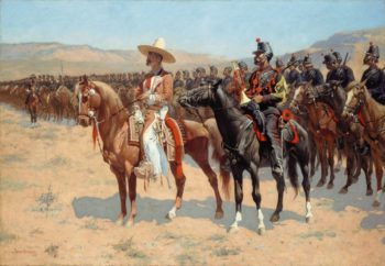 The Mexican Major | Frederic Remington | Oil Painting