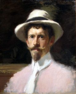 Self-Portrait | Frederick William MacMonnies | Oil Painting