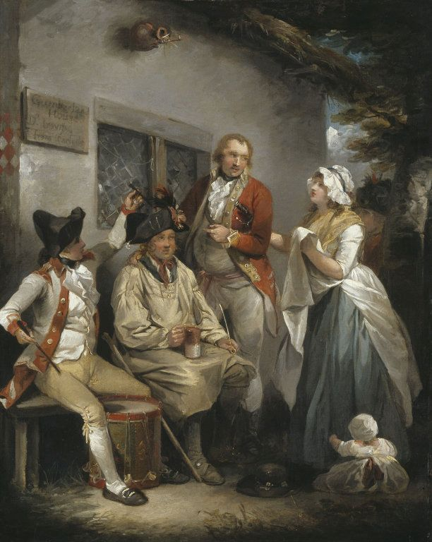 Trepanning a Recruit | George Morland | Oil Painting