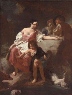 Pastoral Scene | Giovanni Battista Piazzetta | Oil Painting