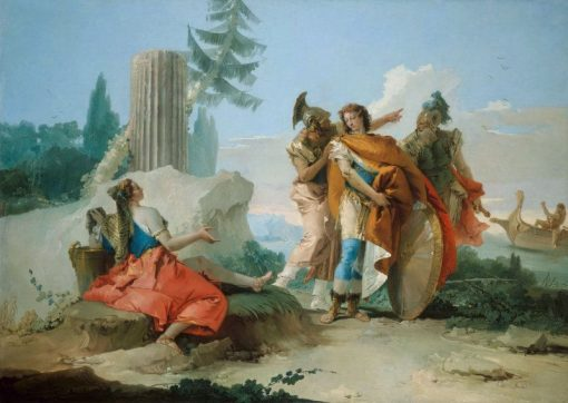Armida Abandoned by Rinaldo | Giovanni Battista Tiepolo | Oil Painting