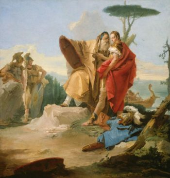 Rinaldo and the Magus of Ascalon | Giovanni Battista Tiepolo | Oil Painting