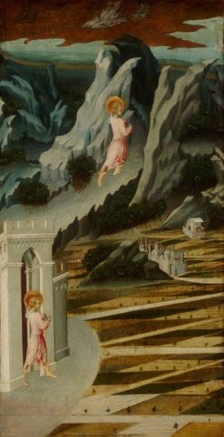 Saint John the Baptist Entering the Wilderness | Giovanni di Paolo | Oil Painting