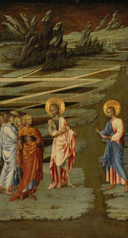 Ecce Agnus Dei | Giovanni di Paolo | Oil Painting