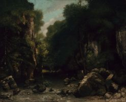 The Valley of Les Puits-Noir | Gustave Courbet | Oil Painting