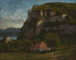 The Rock at Hautepierre | Gustave Courbet | Oil Painting