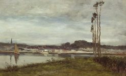 On the Seine | Homer Dodge Martin | Oil Painting