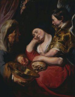The Temptation of the Magdalene | Jacob Jordaens | Oil Painting