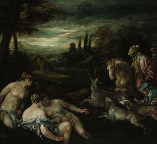 Diana and Actaeon | Jacopo Bassano | Oil Painting